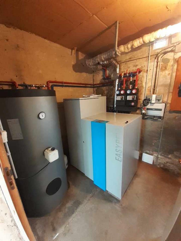ENTREPRISE RGE - QUALIBOIS - Installation d'une chaudière à granulés en remplacement d'une chaudière fuel - ENTREPRISE RGE- QUALIBOIS