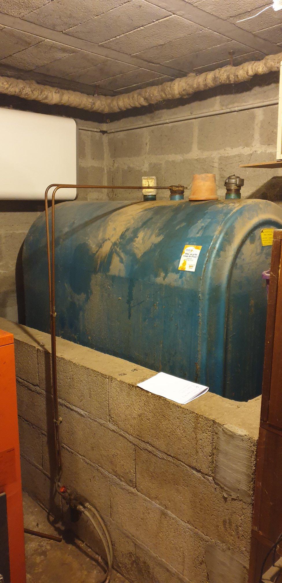 Installation d'une chaudière à granulés à Pretreville (14).