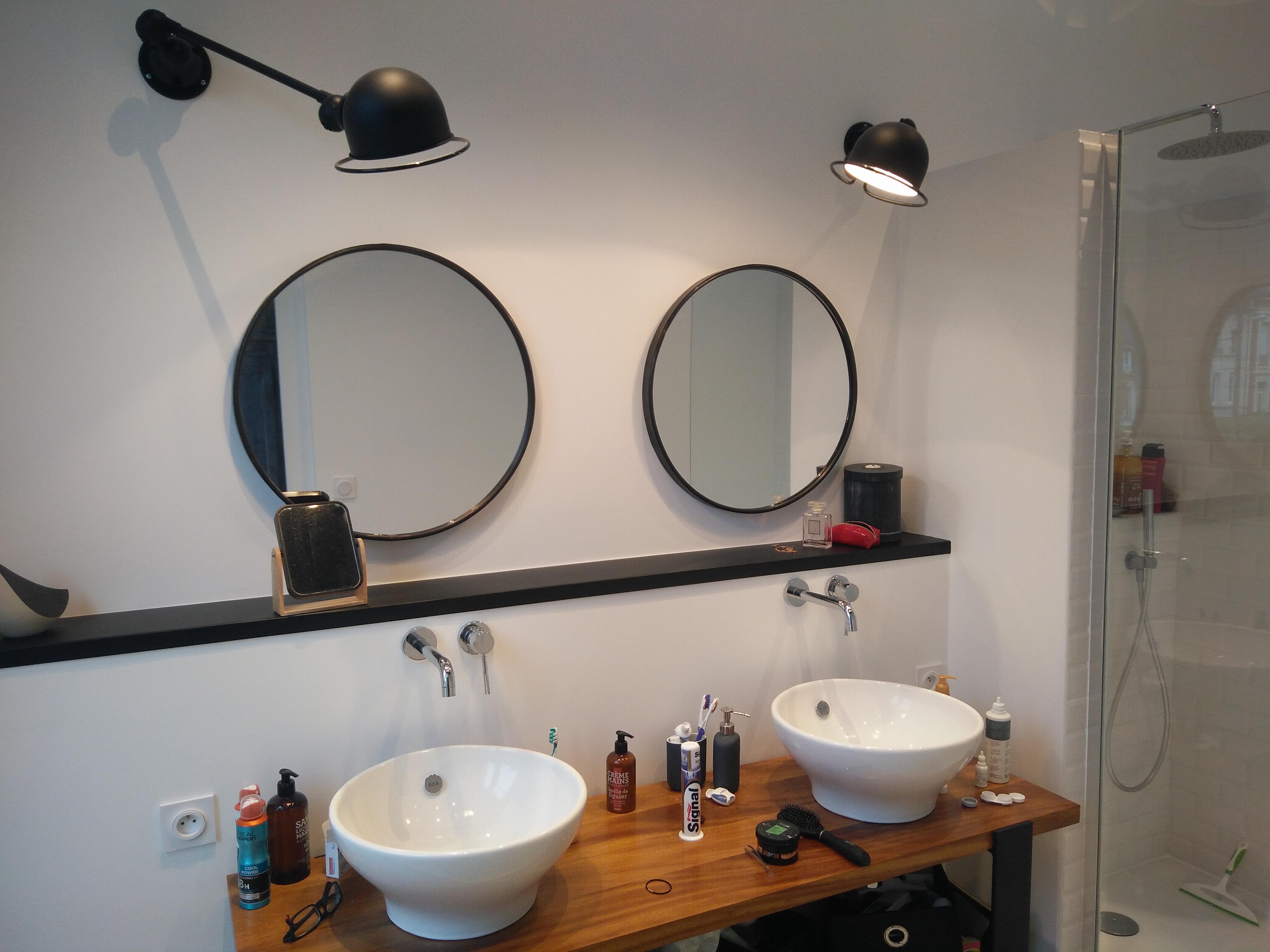Rénovation complète d'une salle de bain sur Lisieux
