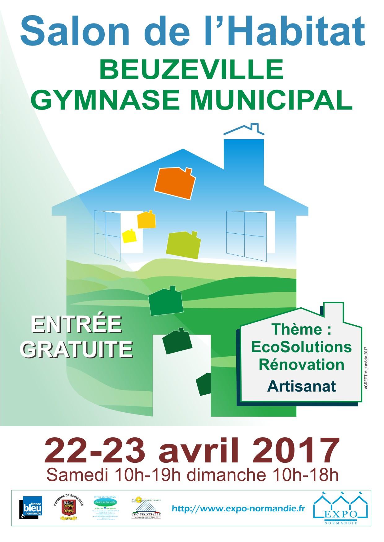 SALON DE L'HABITAT DE BEUZEVILLE 22 & 23 AVRIL 2017
